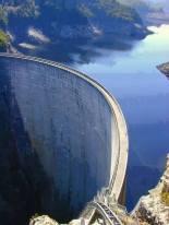 Gordon Dam in Tasmania, Australia