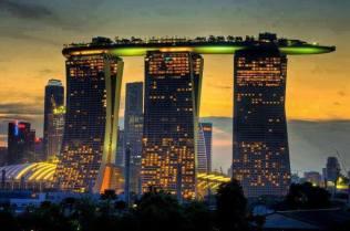 Nice garden in the sky. Singapour