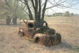 Old car forgotten